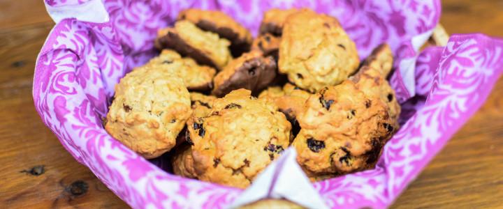 Dietetyczne ciasteczka owsiane przepis nr 1 (bez cukru)